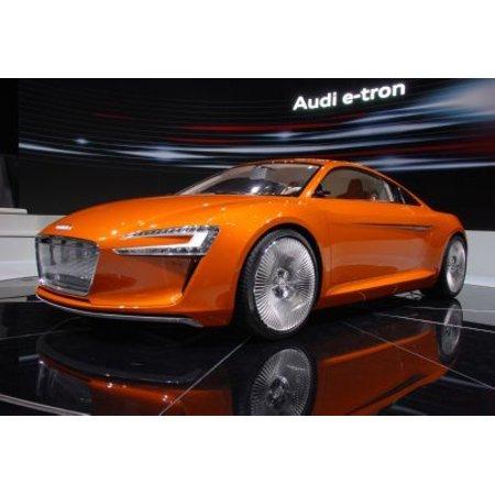 Audi E-Tron Concept Mini Poster 11x17 ships in mail/gift tube Concert Mini Poster
