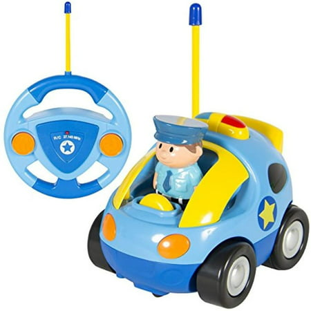 Christmas Crafts For Preschoolers (RC Cartoon Race Car with Music Radio Control Toy Action Figure RC Vehicle for Kids Toddlers Preschooler Baby Christmas Gift)