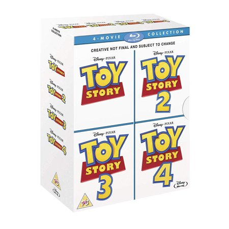 Toy Story: 4-Movie Collection (Blu-ray) ()