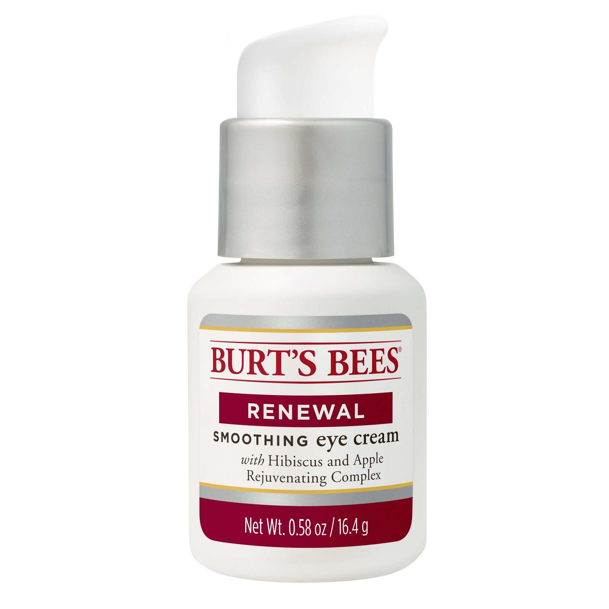 Burt's Bees Renewal Smoothing Eye Cream, Firming Eye Cream, 0.58 oz