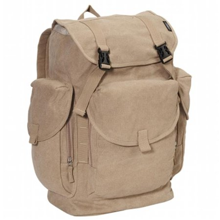 Everest  19.5 in. Cotton Canvas Backpack (Everest Canvas Backpack)