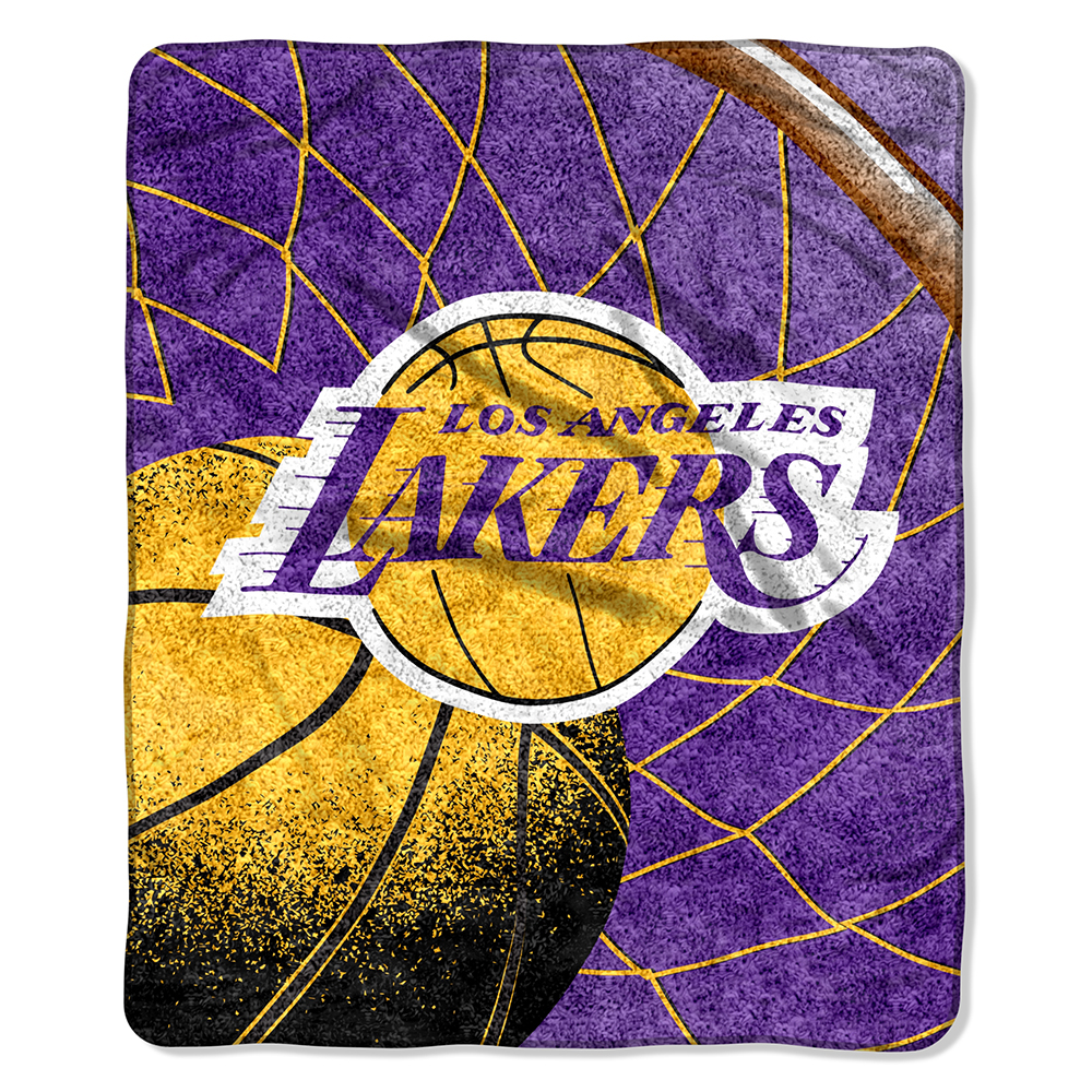 Los Angeles Lakers Super-Soft Sherpa Blanket