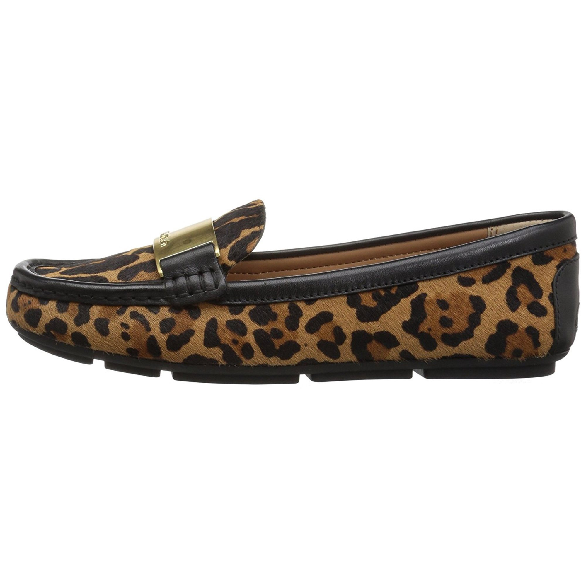 2a9c713fe8a Calvin Klein Womens Lisette Leather Closed Toe Loafers