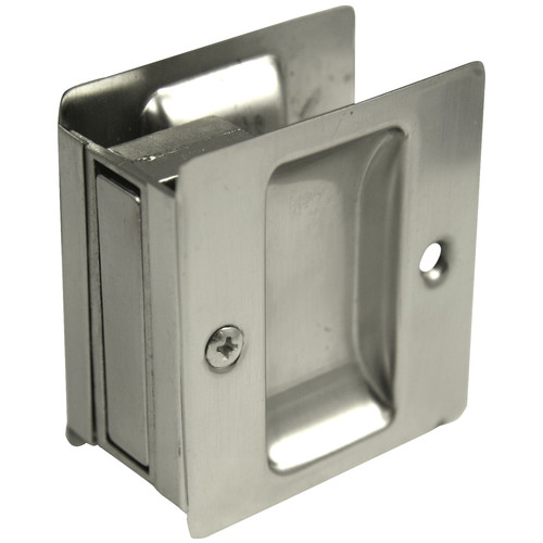 Ultra 49606 Satin Nickel Privacy Pocket Door Lock