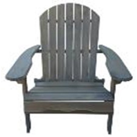 Denise Austin Home Milan Outdoor Folding Wood Adirondack