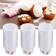 Mgaxyff Round Cake Cup, Muffin Cases Cup,100PCS Mini Cupcake Liners Paper Round Cake Baking Cups Muffin Cases Home Party Wedding