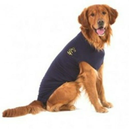 Medical Pet Shirt Protection After Surgery Dog Canine Size Small Dark Blue