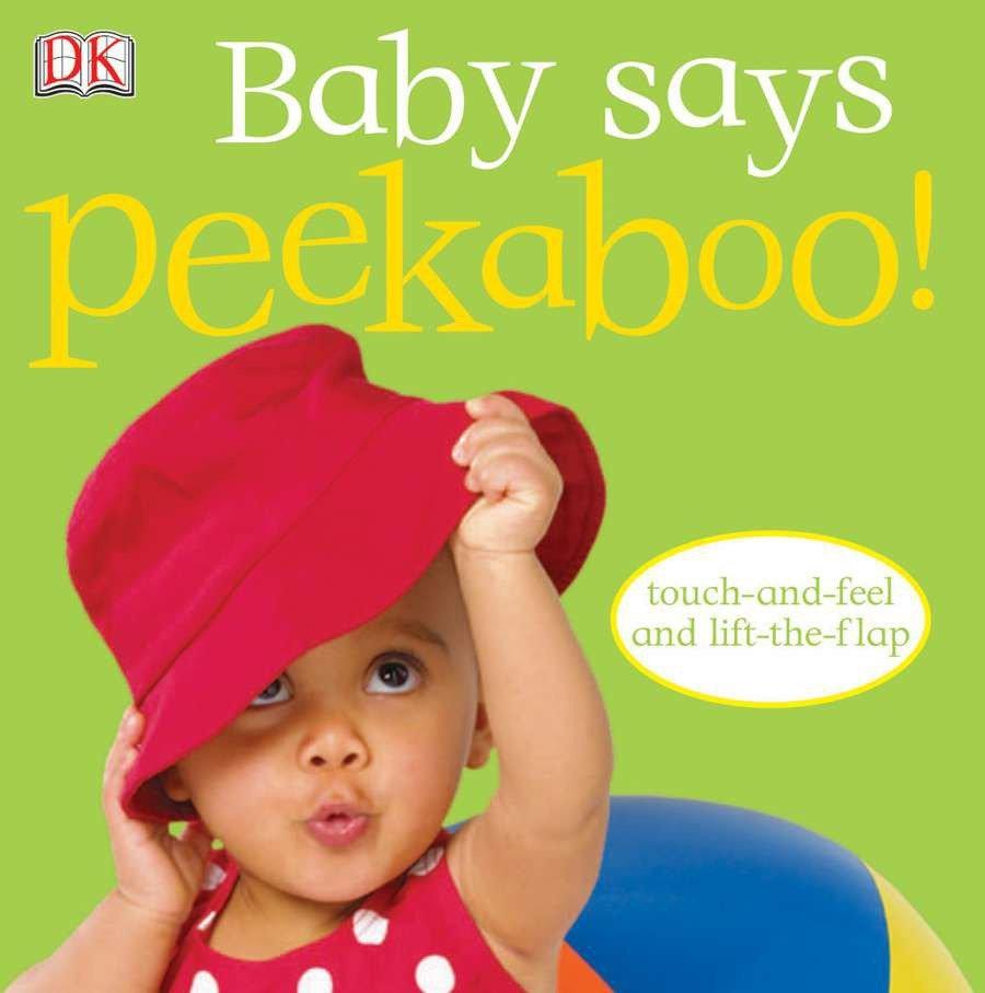 Baby Says Peekaboo (Board Book)