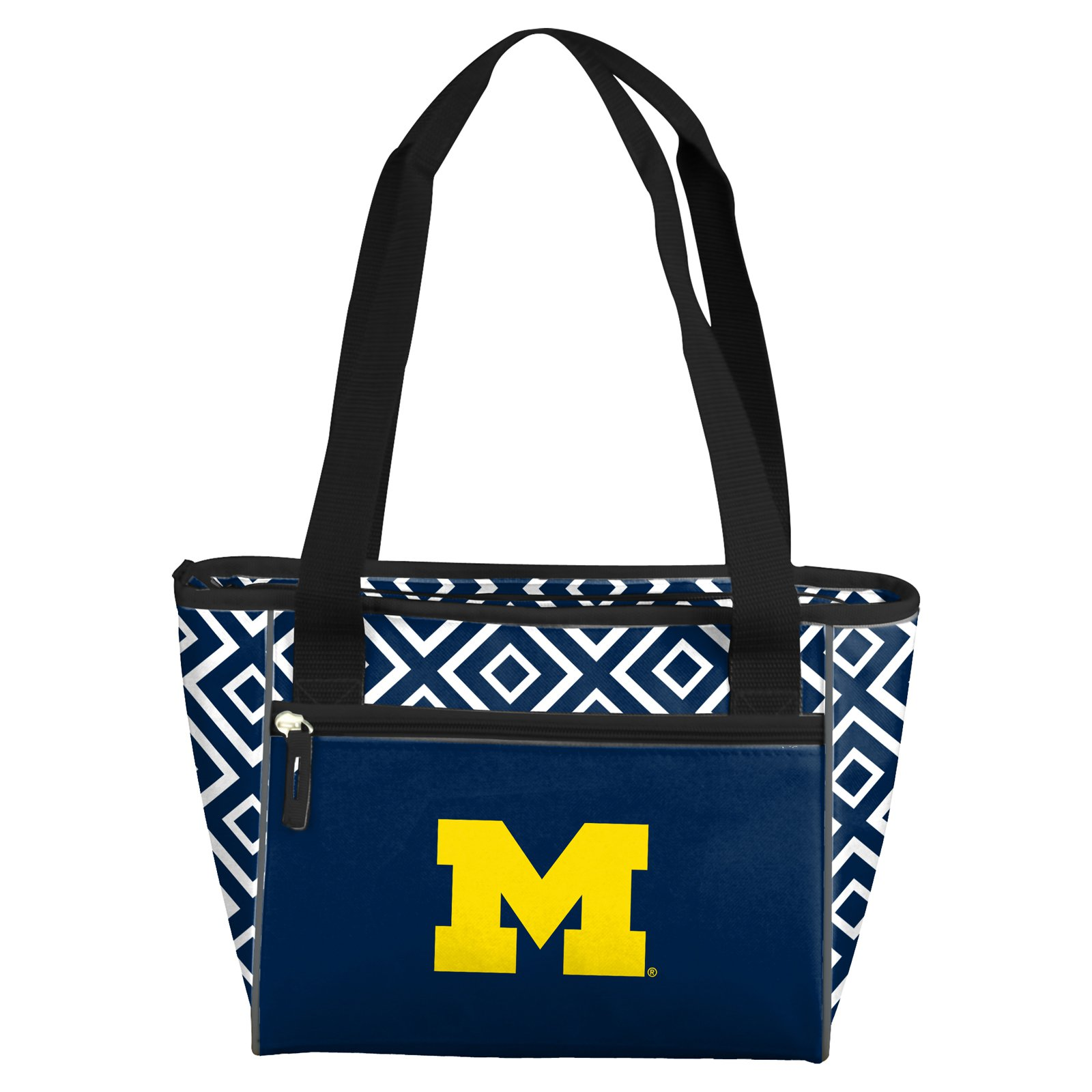 Logo Brands NCAA Diamond 16 Can Cooler Tote