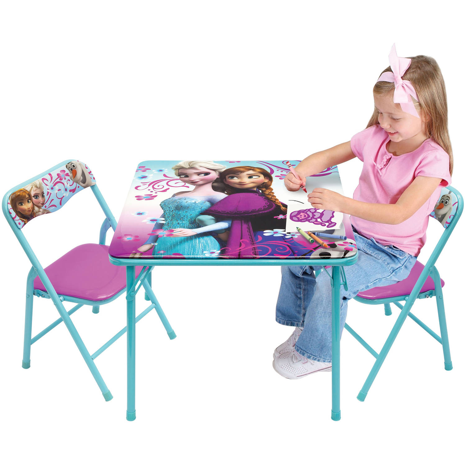 Disney Frozen Activity Table Set - Walmart.com