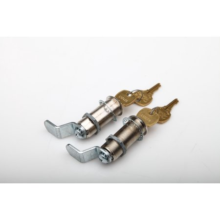 Decked AD1 Lock Cylinder  Direct Fit DECKED Drawer Lock; Keyed Lock; Set of 2 With 4 Keys - image 1 de 1
