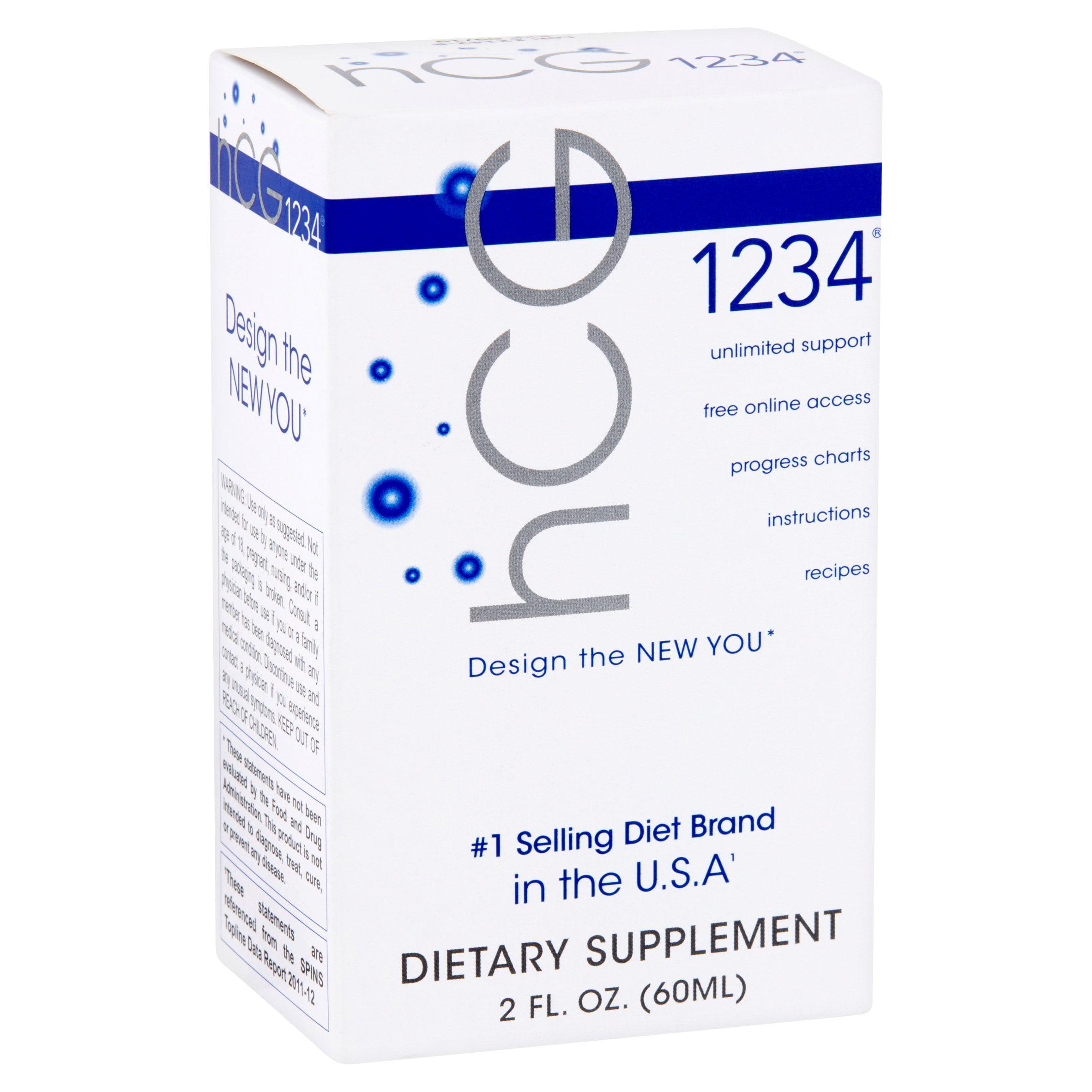Hcg 1234 dietary supplement 2 fl oz walmart nvjuhfo Image collections