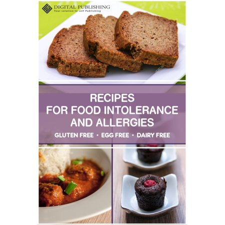 Recipes for food intolerance and allergies - gluten free, egg free and milk free - eBook - Halloween Spider Eggs Recipes