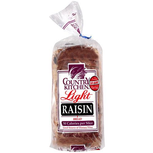 Country Kitchen Light Raisin Bread 15 Oz