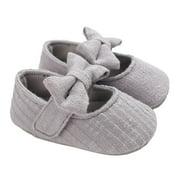 Seyurigaoka Newborn Baby Girls Shoes Toddler Casual Princess Soft Sole Shoes
