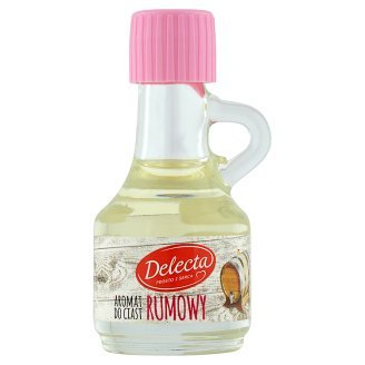 Delecta Rumowy Aromat Do Ciast I Kremow Rum Aroma for Cakes and Cremes 9ml/0.34fl Oz