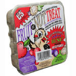 11.75 OZ Fruit 'N Nut Treat Suet Cake Mixture Of Rendered Beef Suet by