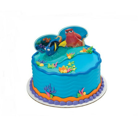 Wal Mart Bakery Finding Dory Fintastic Adventures DecoSet