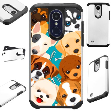 best sneakers a4cca dff40 FusionGuard Phone Case Cover For LG Stylo 4 | Stylo 4 Plus | Q Stylus Q  Plus Q Alpha (Cute Puppy Dogs)