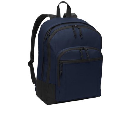 Port Authority® Basic Backpack. Bg204 Navy Osfa - image 1 of 1