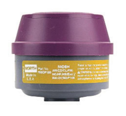 North by Honeywell Organic Vapors/Chlorine/Hydrogen Chlor...