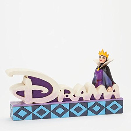 Disney Snow White Evil Queen Drama Word Plaque Figurine 4038491 By Jim Shore](Disney Snow White Evil Queen)