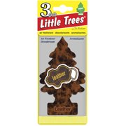 Little Tree Air Freshener, 3pk, Leather