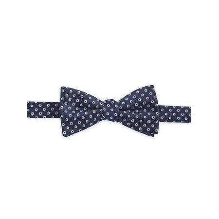 Pre-Tied Floral Silk Bow Tie