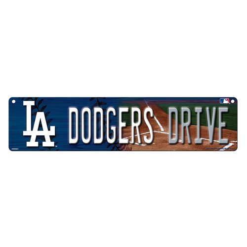 Rico Industries Dodgers High-Res Street Sign