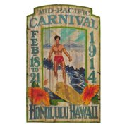 Pacific Carnival Wall Art - 15W x 26H in.