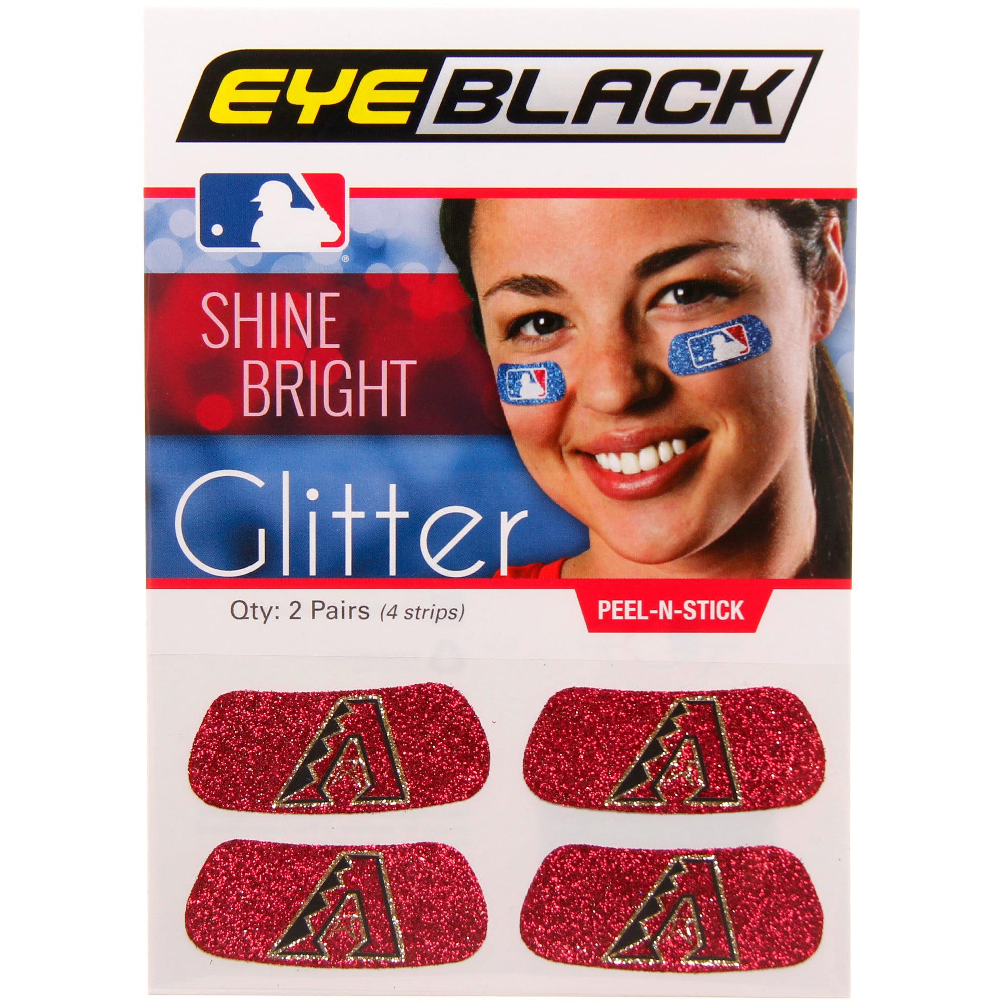 Arizona Diamondbacks Glitter Eyeblack - No Size