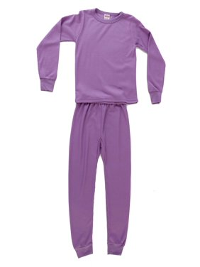 95462-Black-5/6 Just Love Thermal Underwear Set for Girls (Lilac, 5-6)