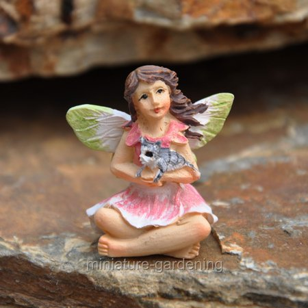 Miniature Tiny Fairy Bella for Miniature Garden, Fairy Garden - Miniature Fairy Gardens