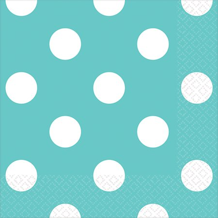 Robin's Egg Blue Dots Everyday Party - Robin's Egg