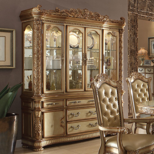 A&J Homes Studio Vendome China Cabinet by