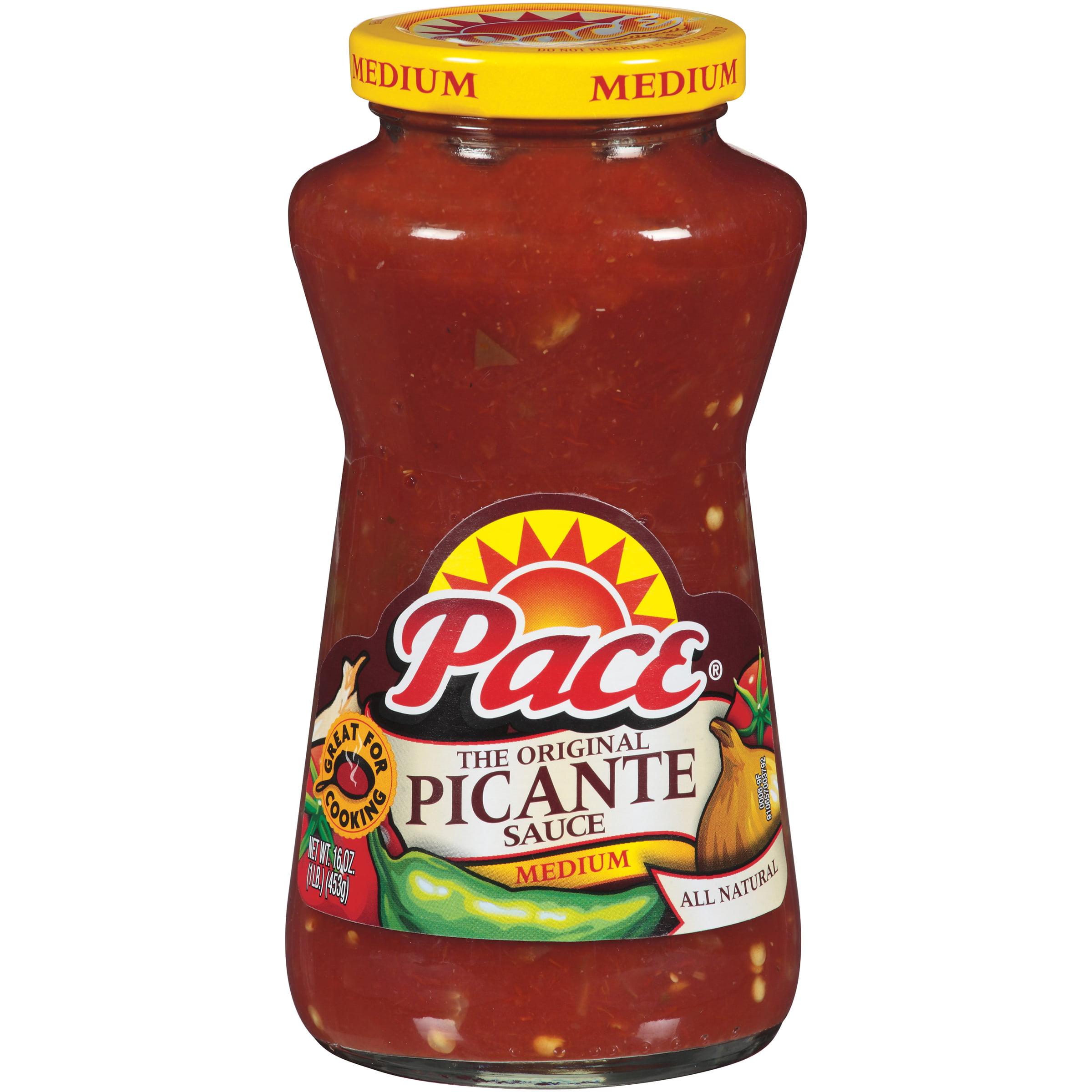 Pace Medium Picante Sauce 16oz