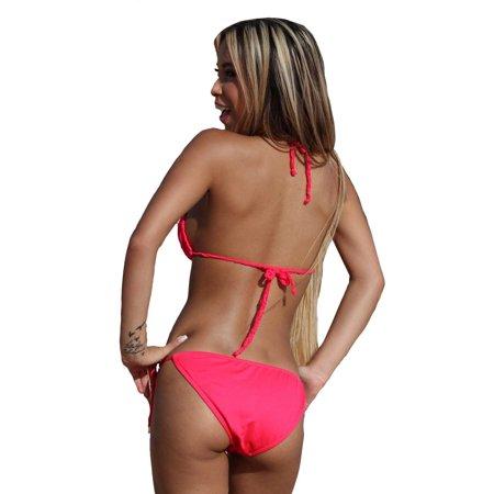 UjENA Sheer Lace String Bikini - Mix and Match Sizes - image 1 of 5