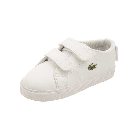 (Lacoste Infant Marcel Lace 216 Sneakers in White)
