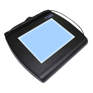 "Image of ""Topaz SignatureGem T-LBK766 Signature Capture Pad - Backlit LCD - Active PenUSB, Serial - 4.60"""" x 0.13"""" Active Area LCD - Backlight - 410 PPI"""