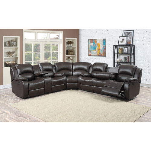 Gentil AC Pacific Samara Reclining Sectional