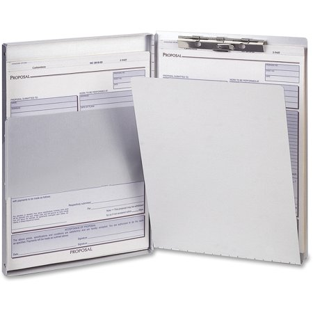 - OIC, OIC83202, Aluminum Side Loading Form Holders, 1 Each, Aluminum