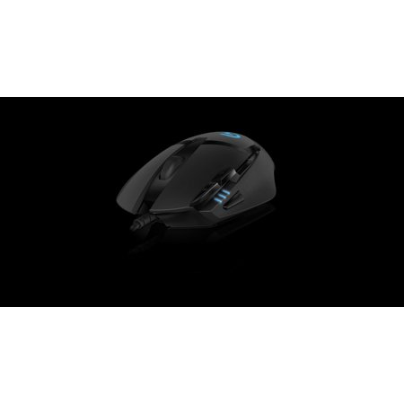 Logitech G402 Hyperion Fury Ultra-fast Fps Gaming Mouse - Optical - Cable - Black - Usb - 4000 Dpi - Scroll Wheel - 8 Button (s) (910-004069)