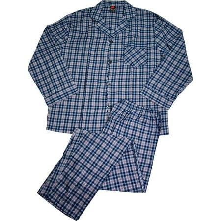 4004f583678b Size 5XL Mens Big   Tall Broadcloth Long Sleeve Pajama Set