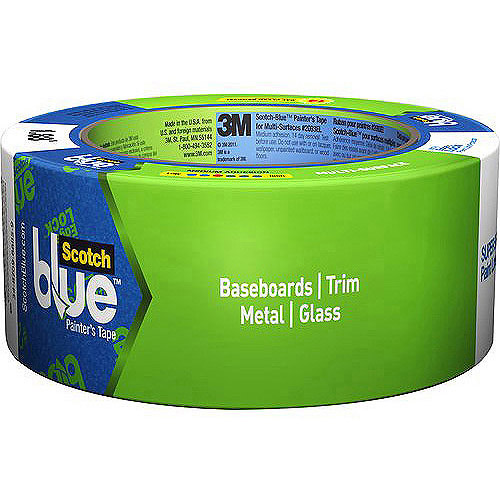 ScotchBlue Painter's Tape Multi-Surface with Advanced Edge-Lock Paint Line Protector, Multiple Sizes Available
