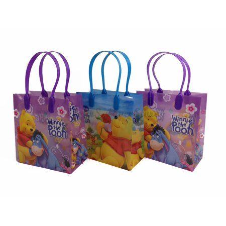 Winnie the Pooh 12 Authentic Licensed Party Favor Reusable Medium Goodie Gift Bags 6