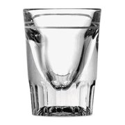 Line Whiskey Shot Glasses, 1.5oz, Clear ANH5281932U