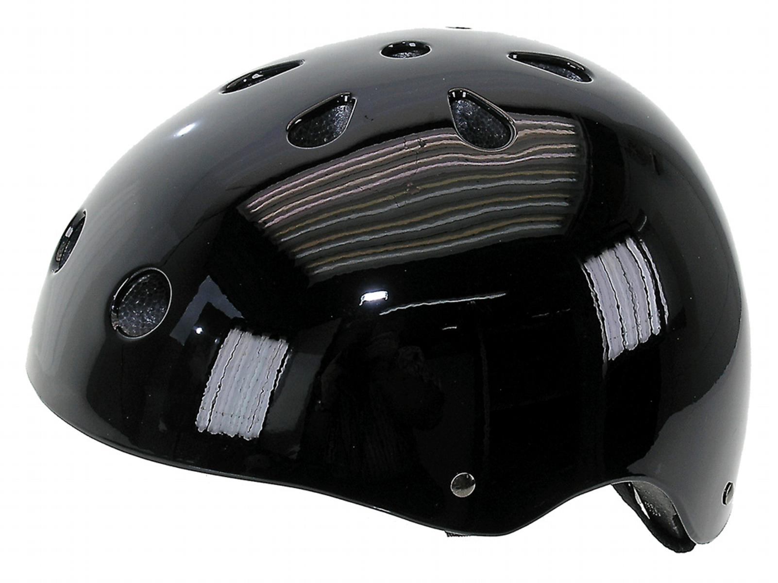 Ventura Gloss Black Freestyle Helmet L by Ventura