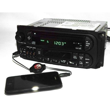 Jeep Ipod - 1998-2002 Chrysler Dodge Jeep Radio AM FM CD CS iPod Input P04858540 Twin 7 RAZ - Refurbished