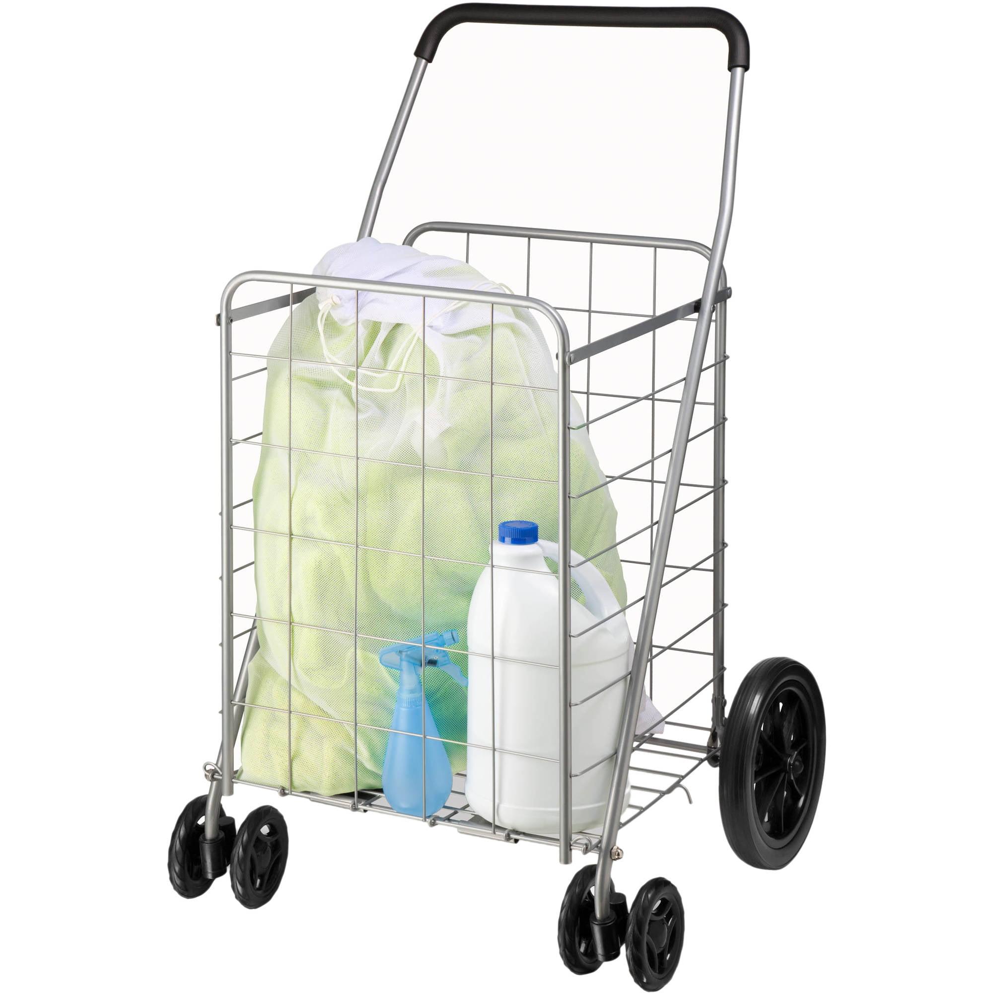 lowes utility cart heavy duty steel honey can do steel folding dualwheel utility rolling cart gray walmartcom