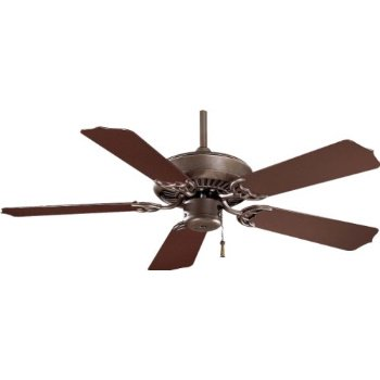 "Minka-Aire F572-ORB, Sundance 42"" Ceiling Fan, Oil Rubbed Bronze Finish with Dark Oak All Weather Blades"
